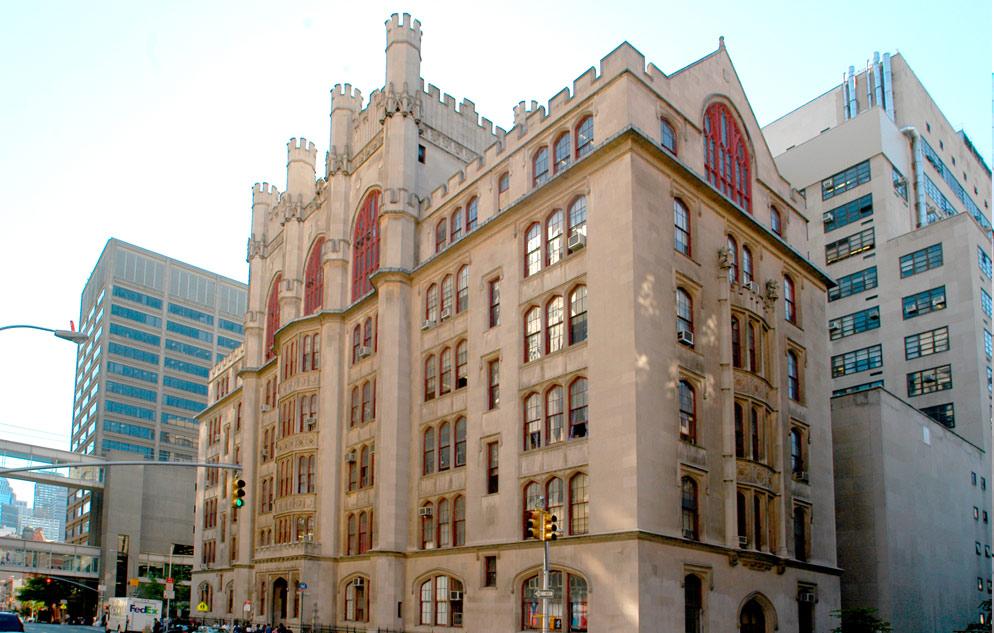 Hunter College, 68th St. and Lexington Avenue.